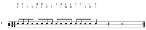 Seventeen Stroke Roll