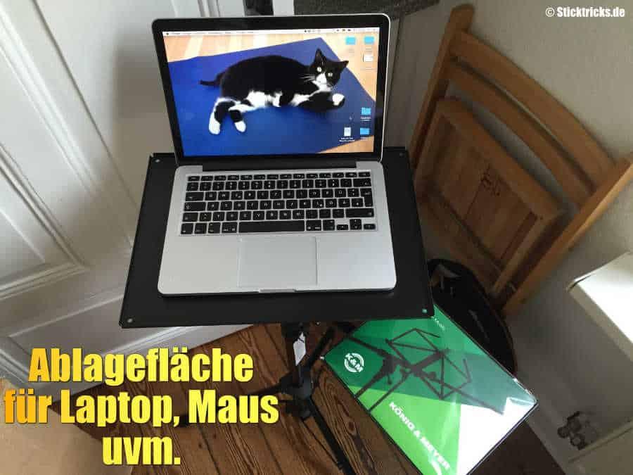 Laptopstaender König & Meyer