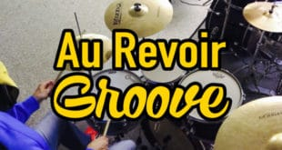 """Drum Groove aus Mark Forster's Song """"Au Revoir"""""""