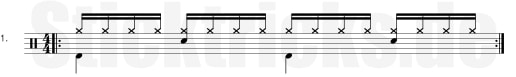 1/16 Hihat Groove
