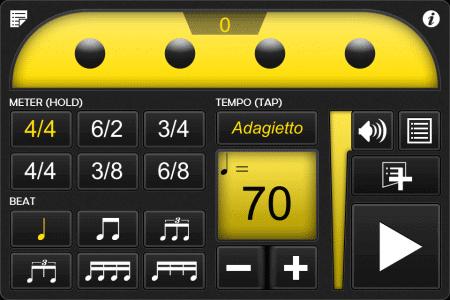 Frozen Ape Tempo Mentronom App für Drummer