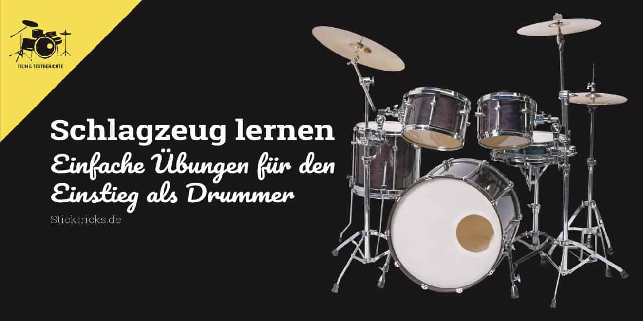 Schlagzeug lernen für Anfänger