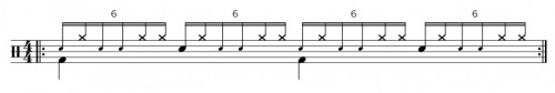 Single Paradiddle Diddle Groove
