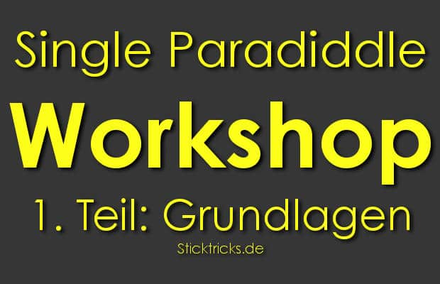 Workshop Single Paradiddle