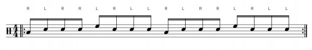 Paradiddle 1