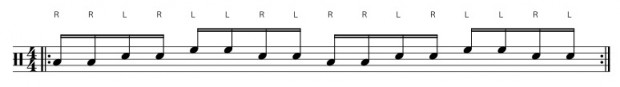 Paradiddle 3
