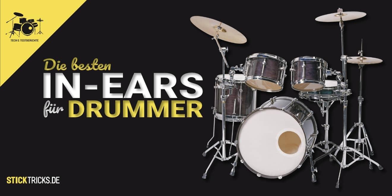 In Ear Kopfhörer für Schlagzeuger