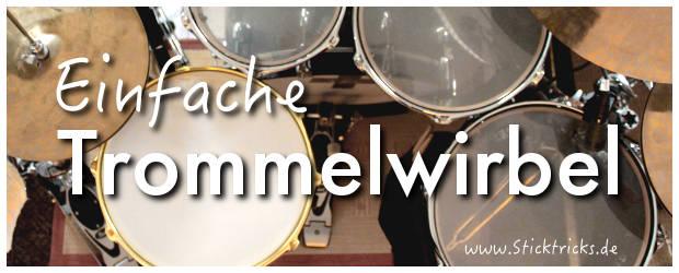 Trommelwirbel Drum Rudiments
