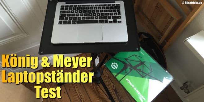 Laptopständer 12150 von König & Meyer
