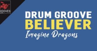 Imagine Dragons - Believer am Schlagzeug lernen