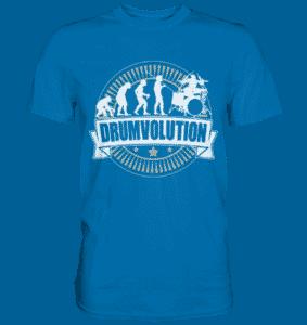 Drumvolution Schlagzeuger T Shirt