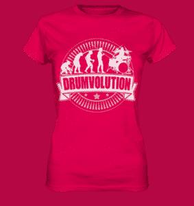 Frauen Schlagzeuger Shirt