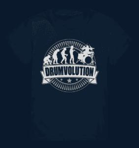 Shirt für Schlagzeuger Kinder