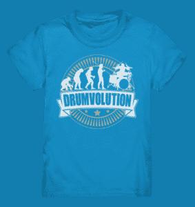 Shirt für Kinder Schlagzeuger