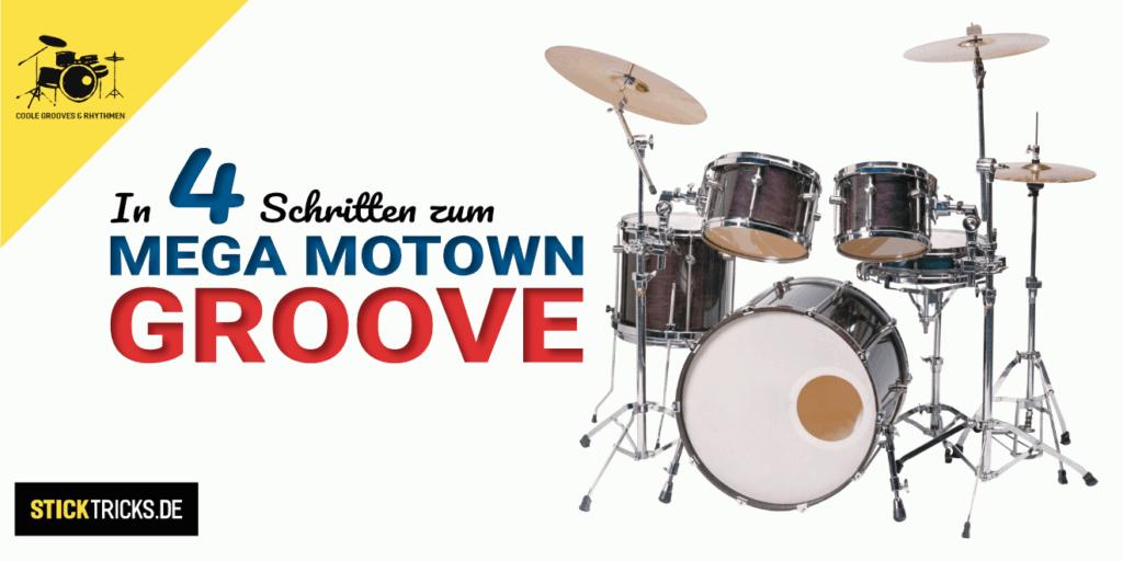 Motown Schlagzeug Groove lernen