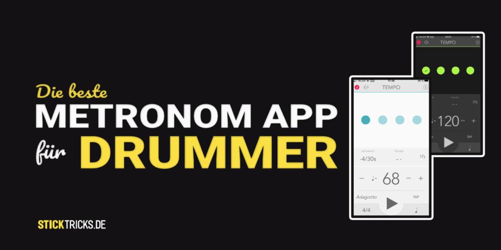 Metronom App für Drummer