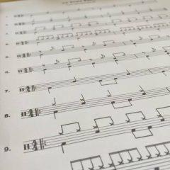 Schlagzeug Noten